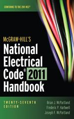 McGraw-Hill's National Electrical Code 2011 Handbook, 27th ... on