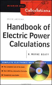 Handbook Of Electric Power Calculations Third Edition Mcgraw Hill Education Access Engineering