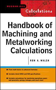 Handbook of Machining and Metalworking Calculations | McGraw