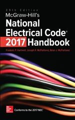 McGraw-Hill's National Electrical Code 2017 Handbook, 29th ... on outdoor electrical receptacle box, national electrical code, outdoor wiring post, outdoor electrical outlets code, outdoor flexible conduit, outdoor electrical conduit code, outdoor underground electrical conduit, outdoor wiring conduit, outdoor electrical receptacle pedestal, outdoor wiring box, outdoor electrical wire, outdoor electrical connections, outdoor electrical outlet covers,