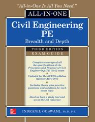 Civil Engineering All In One Pe Exam Guide Breadth And Depth Third Edition Mcgraw Hill Education Access Engineering