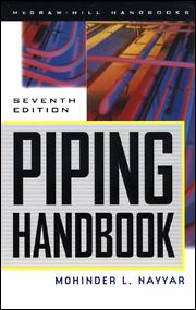 cover of piping handbook, seventh edition
