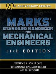 Marks Standard Handbook For Mechanical Engineers Eleventh Edition Mcgraw Hill Education Access Engineering