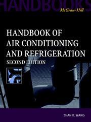 Handbook of Air Conditioning and Refrigeration, 2/e | McGraw