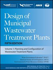 Design of Municipal Wastewater Treatment Plants: WEF Manual