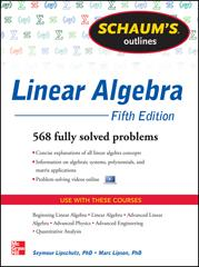 Schaum's Outline of Linear Algebra, Fifth Edition | McGraw