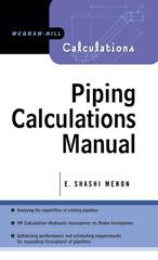 Piping Calculations Manual | McGraw-Hill Education - Access